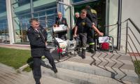 Uroczystość wręczenia sprzętu strażakom w Boniewie, fot. Szymon Zdziebło