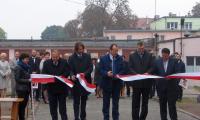 Otwarcie centralnej sterylizatorni w Powiatowym Szpitalu w Aleksandrowie Kujawskim; fot. PSwAK