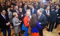 Opłatek samorządowców w Dworze Artusa, fot. Andrzej Goiński