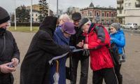 Obchody Międzynarodowego Dnia Przewodnika Turystycznego, zwiedzanie Włocławka, fot. Jan Sieraczkiewicz
