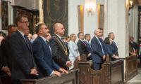 Msza święta w intencji mieszkańców regionu w kościele świętych Janów w Toruniu, fot. Szymon Zdziebło/Tarantoga.pl