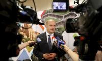 Konferencja prasowa marszałka województwa po ostatnim czerwcowym posiedzeniu Komitetu Monitorującego RPO, fot. Mikołaj Kuras