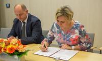 Ceremonia podpisania umowy partnerstwa, fot. Szymon Zdziebło/tarantoga.pl