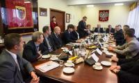 Spotkanie samorządowców w sprawie dróg w powiecie tucholskim, fot. Tymon Markowski