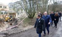 Przekazanie placu budowy w Wojewódzkim Szpitalu Zespolonym w Toruniu, Fot. Mikołaj Kuras