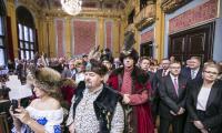 Spotkanie opłatkowe w toruńskim Dworze Artusa, fot. Daniel Pach